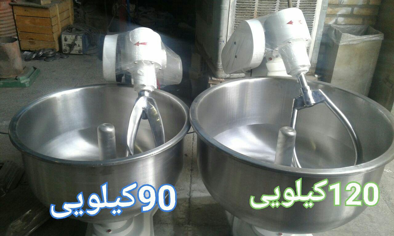 دستگاه خمیرگیر120 کیلویی که به آن خمیرکن 80کیلو آرد هم گفته می شود09356824960